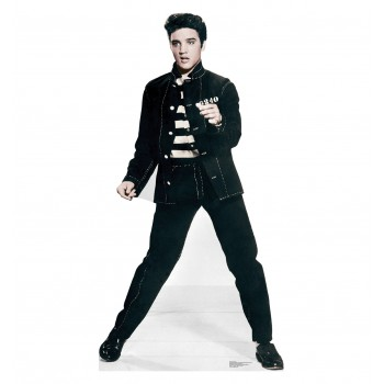 Elvis - Jailhouse Rock - TALKING Cardboard Cutout - $49.95