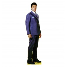 Elvis Double Breasted Coat Cardboard Cutout
