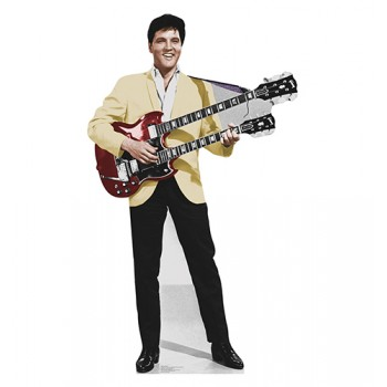 Elvis Yellow Jacket Cardboard Cutout - $39.95