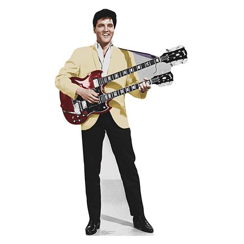 Elvis Yellow Jacket Cardboard Cutout