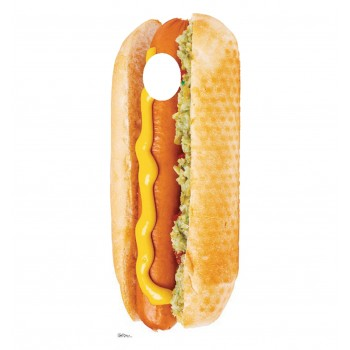 Hot Dog Stand In Cardboard Cutout - $39.95