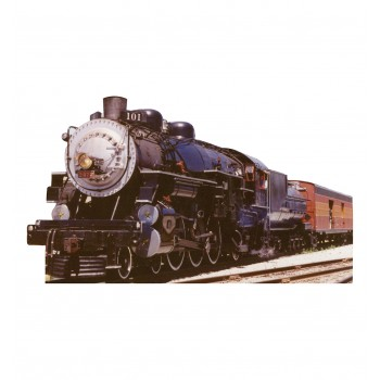 Southern Pacific Train 2472 Cardboard Cutout