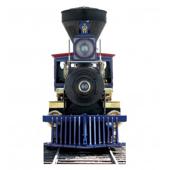 CP 60 Jupiter Train Cardboard Cutout