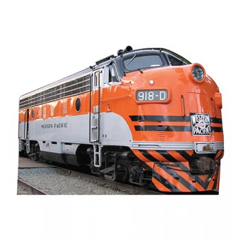 WP 918D Train Cardboard Cutout - $39.95