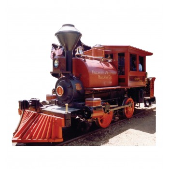 F&W Train #1 Cardboard Cutout - $39.95