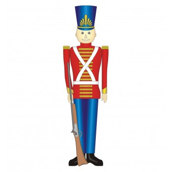 Toy Soldier Cardboard Cutout - $39.95