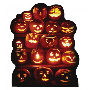 Pumpkin Group Cardboard Cutout - $39.95