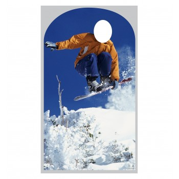Snowboarder Stand In Cardboard Cutout - $39.95