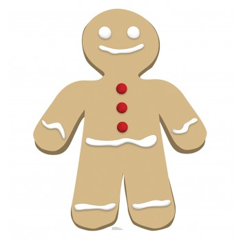 Gingerbread Man Cardboard Cutout - $39.95