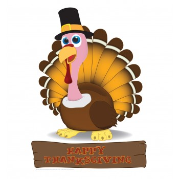 Turkey Cardboard Cutout - $24.95