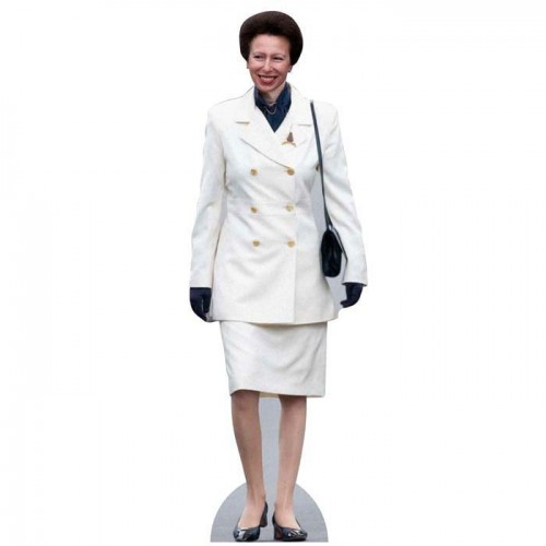 Princess Anne Orange Cardboard Cutout