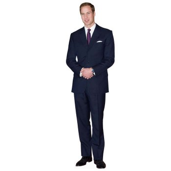 Prince William Cardboard Cutout - $0.00