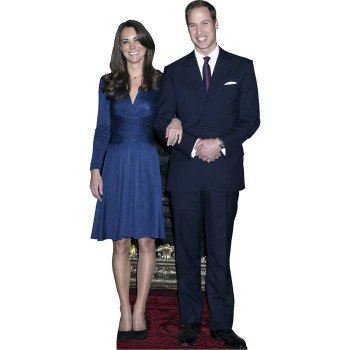 Prince William & Kate Cardboard Cutout - $0.00