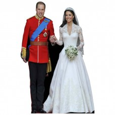 William and Kate Cardboard Cutout