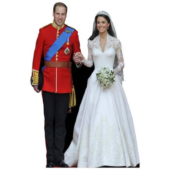 William and Kate Cardboard Cutout - $0.00