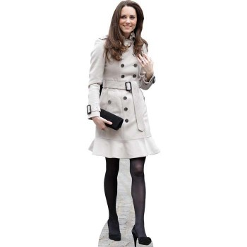 Kate Middleton Cardboard Cutout - $0.00