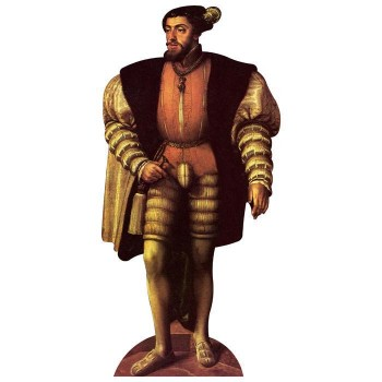 King Charles I of Spain Cardboard Cutout - $0.00