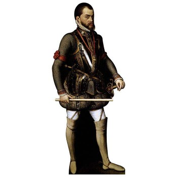 King Philip II of Spain Cardboard Cutout - $0.00