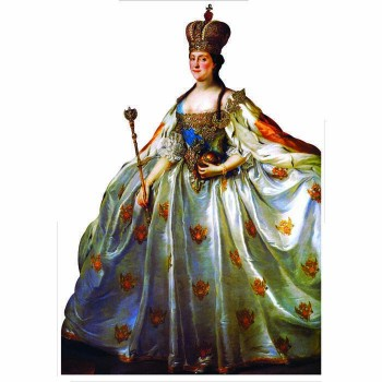 Catherine The Great Cardboard Cutout - $0.00