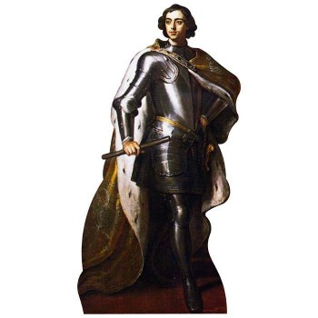Peter the Great Cardboard Cutout - $0.00