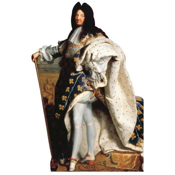 King Louis XIV Cardboard Cutout - $0.00