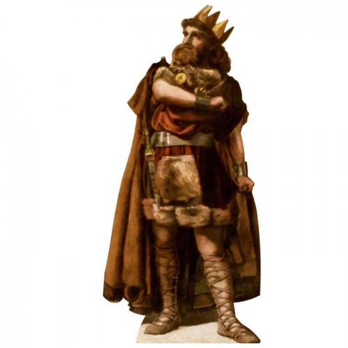 Macbeth King of Scotland Cardboard Cutout