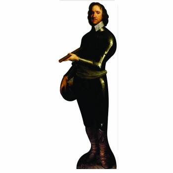 Oliver Cromwell Cardboard Cutout - $0.00