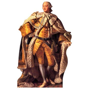 King George III Cardboard Cutout - $0.00