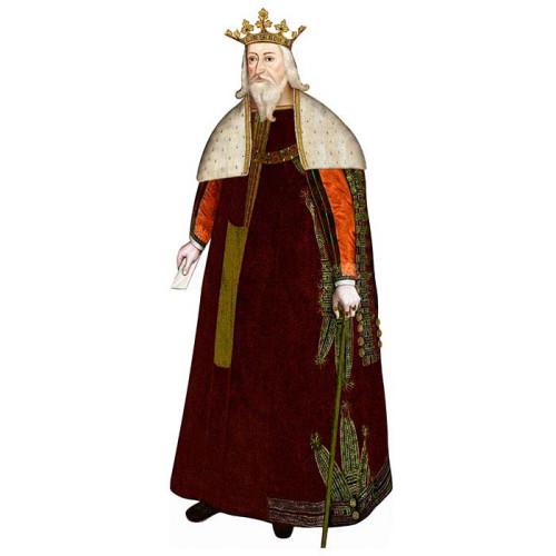 Edward III Cardboard Cutout