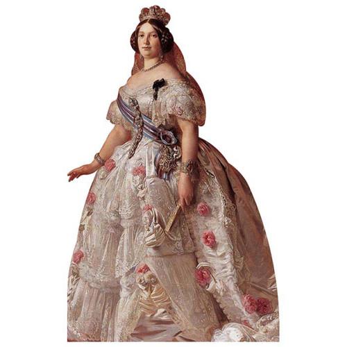 Isabella II of Spain Cardboard Cutout