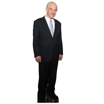 Ron Paul Cardboard Cutout