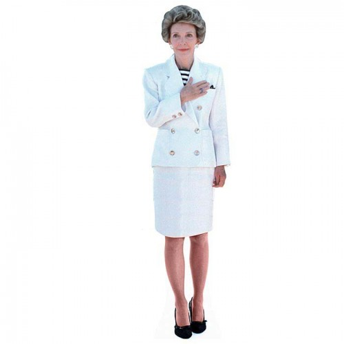 Nancy Reagan Cardboard Cutout