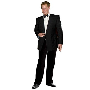 Prince Harry Cardboard Cutout - $0.00