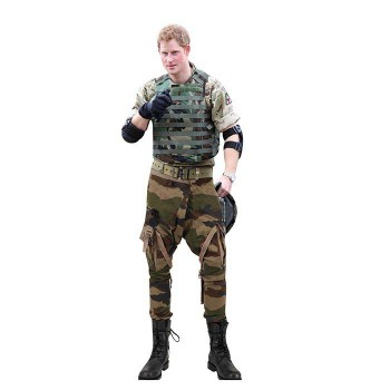 Prince Harry Military Cardboard Cutout - $0.00