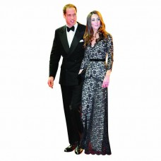 William and Kate 3 Cardboard Cutout