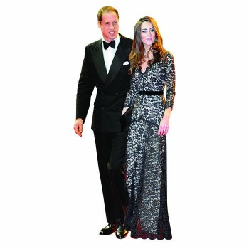 William and Kate 3 Cardboard Cutout - $0.00