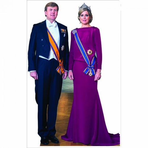 Dutch King & Queen Cardboard Cutout