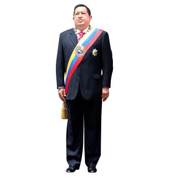 President Hugo Chavez Cardboard Cutout - $0.00