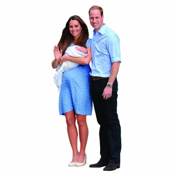 Royal Family Cardboard Cutout - $0.00