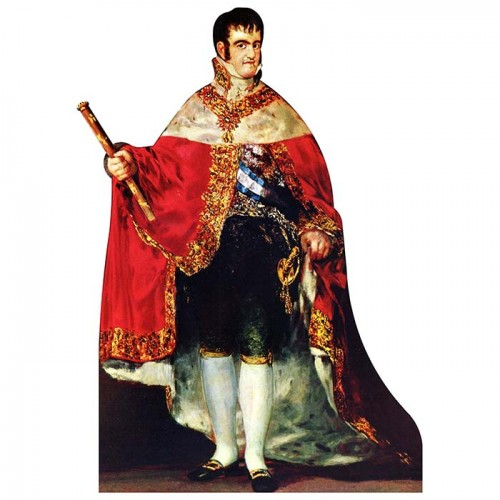 Ferdinand VII of Spain Cardboard Cutout