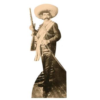 Emiliano Zapata Cardboard Cutout - $0.00