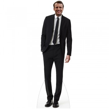 Emmanuel Macron Cardboard Cutout - $0.00