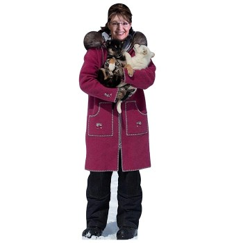 Sarah Palin at Alaska Cardboard Cutout - $0.00