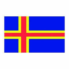 Aland Islands Flag