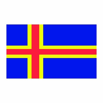 Aland Islands Flag Cardboard Cutout