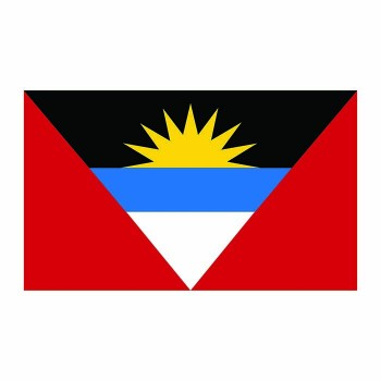 Antigua Flag Cardboard Cutout - $0.00