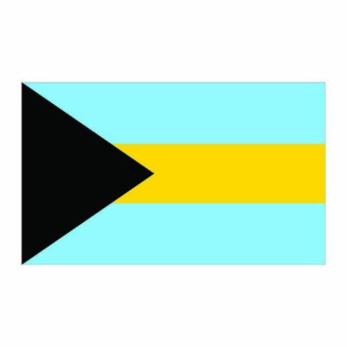 Bahamas Flag Cardboard Cutout