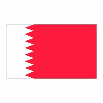 Bahrain Flag Cardboard Cutout - $0.00
