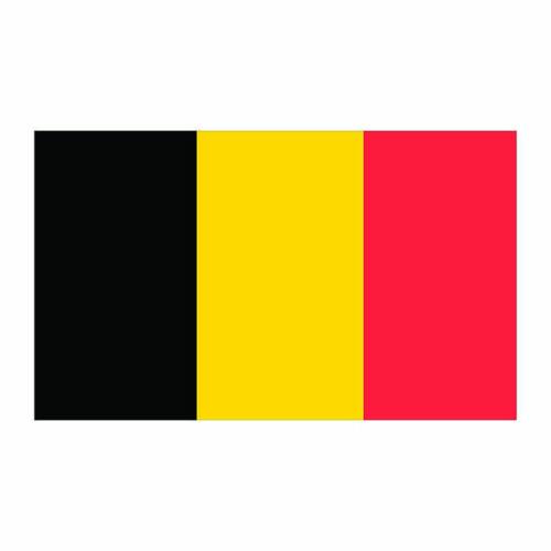 Belgium Flag Cardboard Cutout
