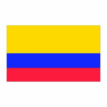 Colombia Flag Cardboard Cutout - $0.00